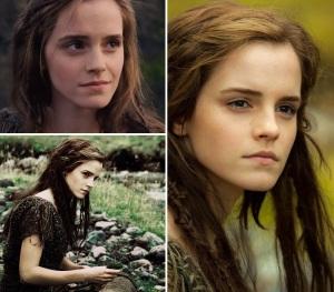 """Emma Watson no filme """"Noé"""", que está nos cinemas aqui no Brasil"""