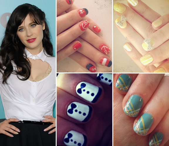 Celebrity Nail Artist: As Unhas Decoradas Das Famosas