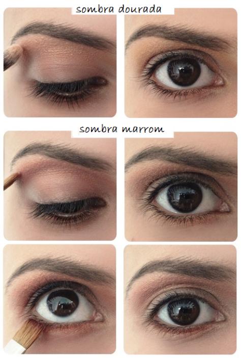 maquiagem-olho-brilho-sombra-dourada-marrom-bela-center
