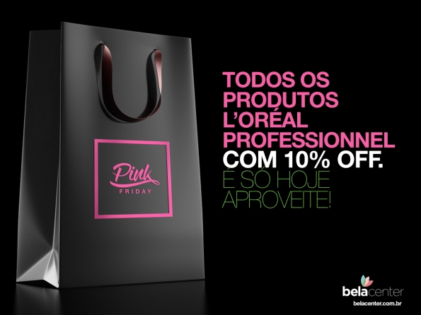 Pink-friday-loreal-descontos-bela-center
