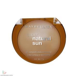 Maybelline Pó Compacto Super Natural Sun Bronz